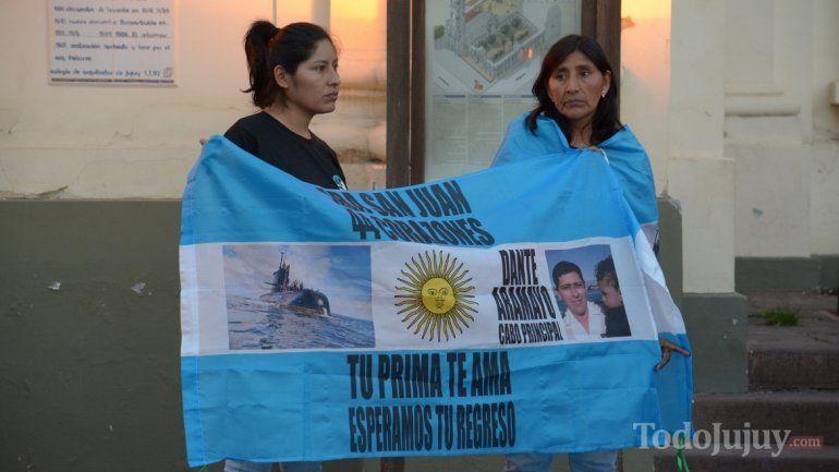 Declararon Ciudadano Ilustre a dos palpaleños tripulantes del Ara San Juan