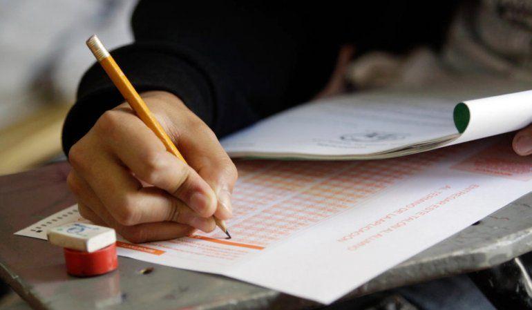 Los exámenes de ingreso al secundario se llevarán a cabo el 2 y 3 de diciembre
