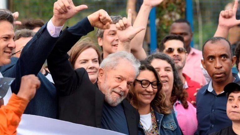La Justicia de Brasil ordenó la libertad de Lula da Silva