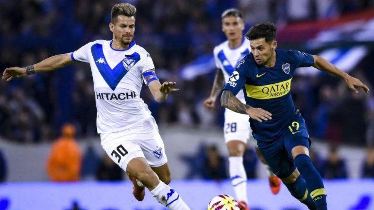 Boca empató sin goles con Vélez y se quedó con una punta compartida con Lanús y Argentinos