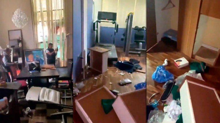 Descontrol en Bolivia: saquearon la casa de Evo Morales y otros ex funcionarios