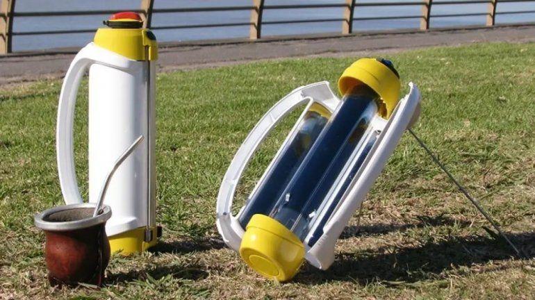 Emprendedores argentinos crearon un termo que calienta el agua usando la luz solar