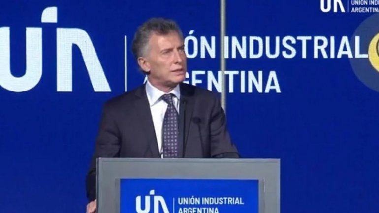Macri se despidió de los industriales: Dejamos el Estado con un déficit un 20% menor que el que recibimos.