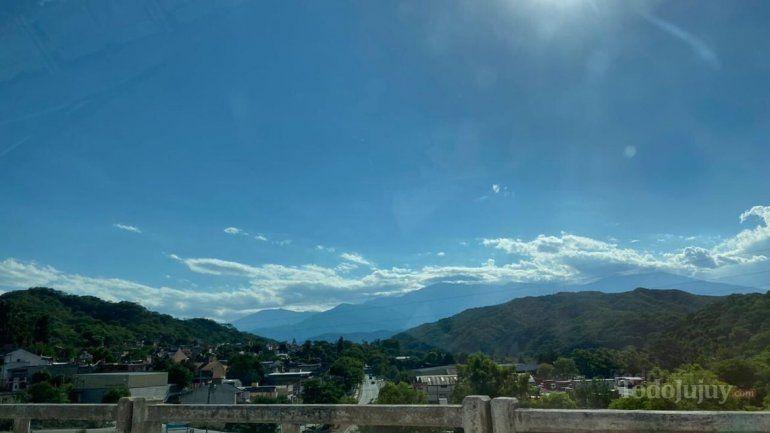 Tiempo en Jujuy: a pleno sol para el fin de semana.