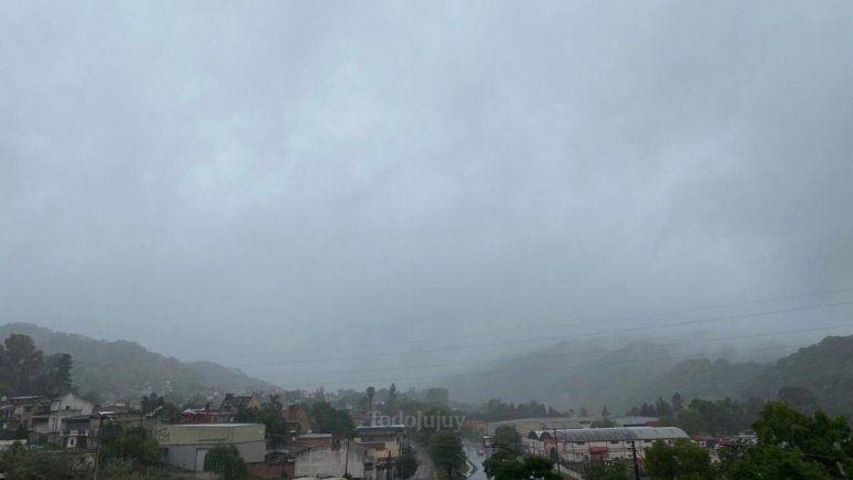 Probabilidad de lluvias en Jujuy