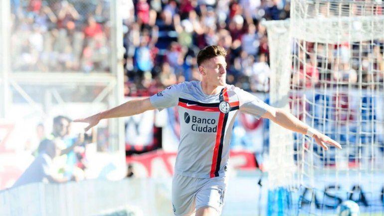 El Ciclón Gaich: San Lorenzo se impuso 2 a 0 ante Patronato