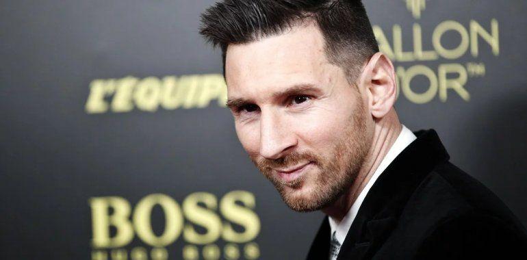 Gigante: Lionel Messi ganó su sexto Balón de Oro