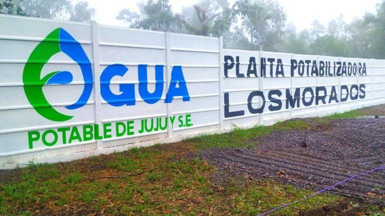 Concluyeron la obra de agua potable que esperaban los vecinos de Los Morados