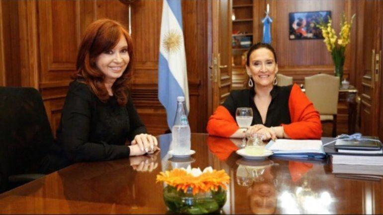 Cristina Kirchner y Gabriela Michetti se reunieron en el Senado