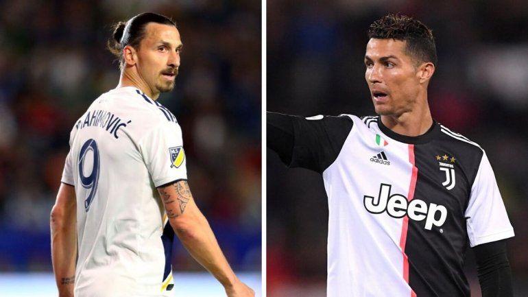Ibrahimovich vuelve a Italia y liquidó a Cristiano Ronaldo