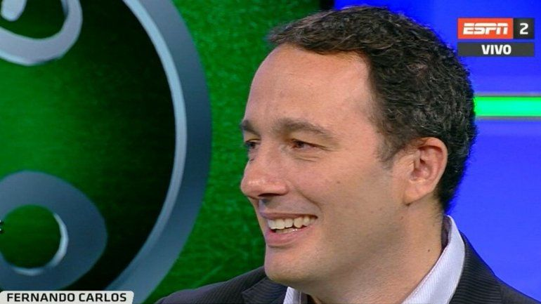ESPN desvinculó al periodista Fernando Carlos