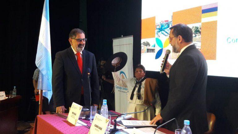 Raúl Jorge asumió su cuarto mandato como intendente de San Salvador de Jujuy