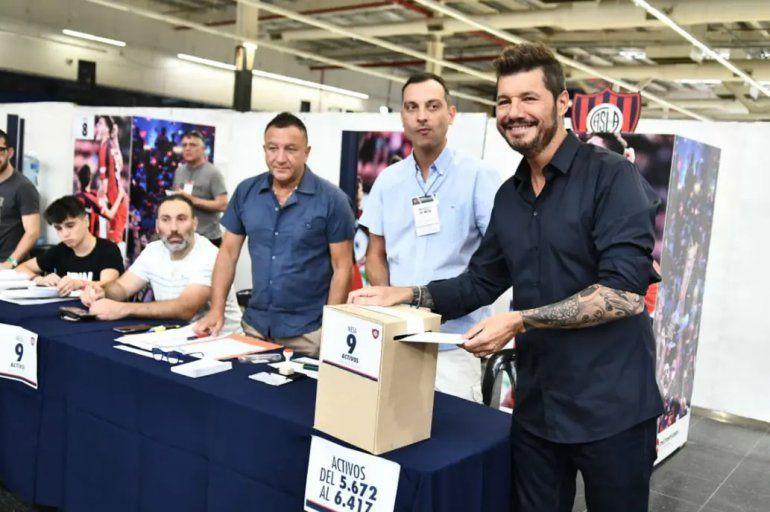 Marcelo Tinelli arrasó en las urnas y es nuevo presidente de San Lorenzo