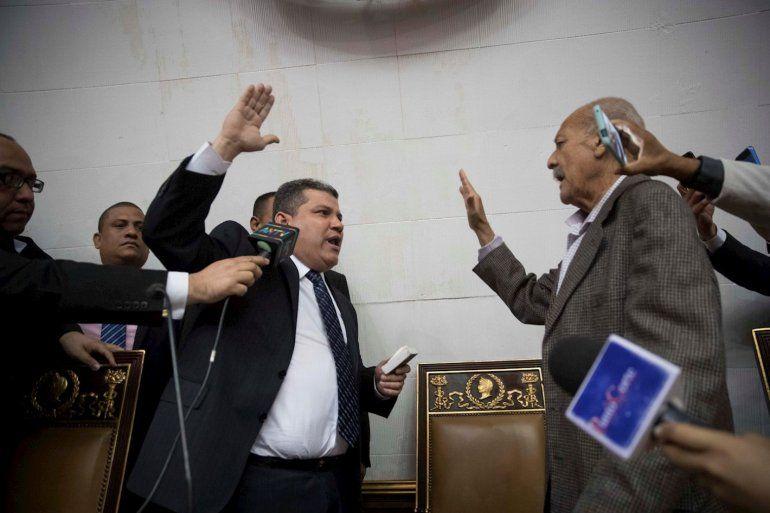 Eligieron a un nuevo presidente del Parlamento venezolano sin la presencia de la oposición
