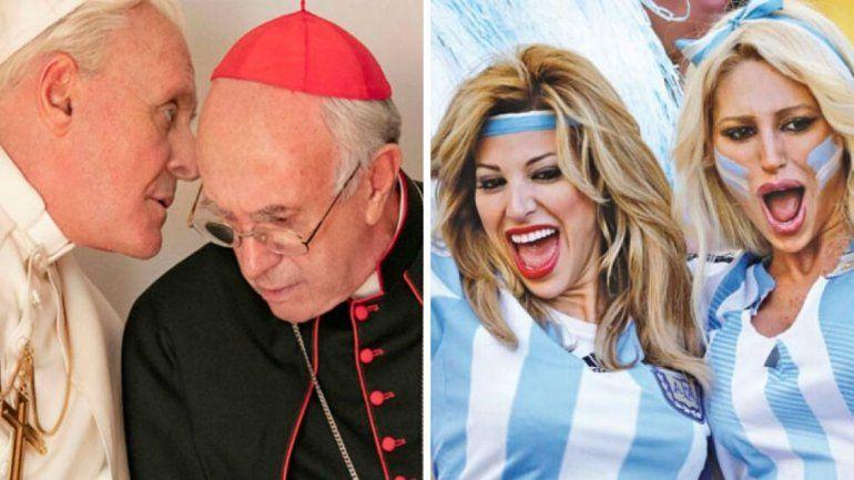 Las Xipolitakis aparecieron en la película Los dos Papas y aseguraron que se sienten más bendecidas
