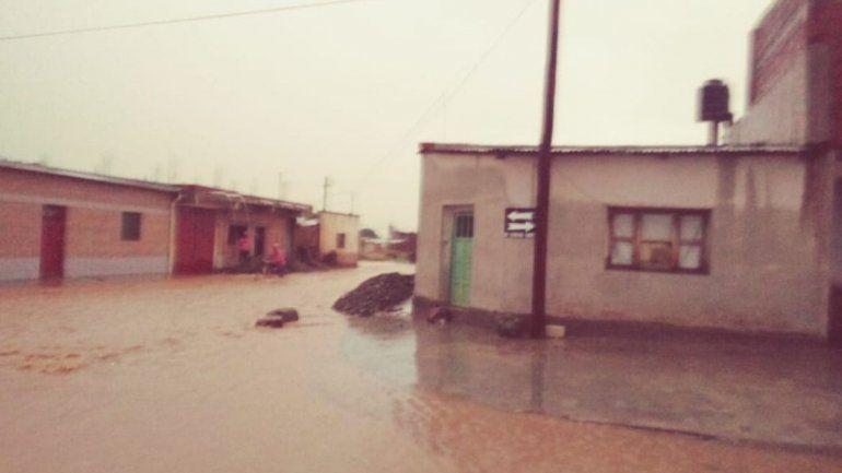 Inundación en Abra Pampa.