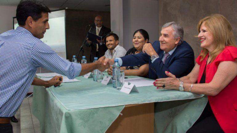 Gobernador Gerardo Morales en la presentación de Escuelas de Verano 2020.