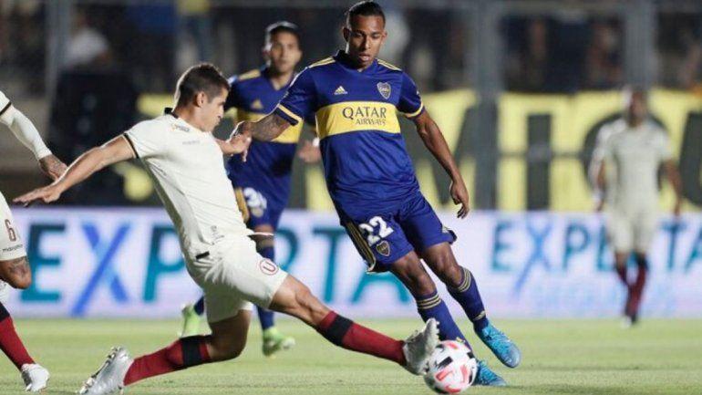 Boca le ganó a Universitario de Perú en un amistoso en San Juan