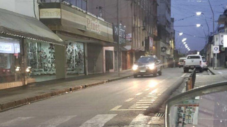 Una camioneta circuló a contramano por pleno centro