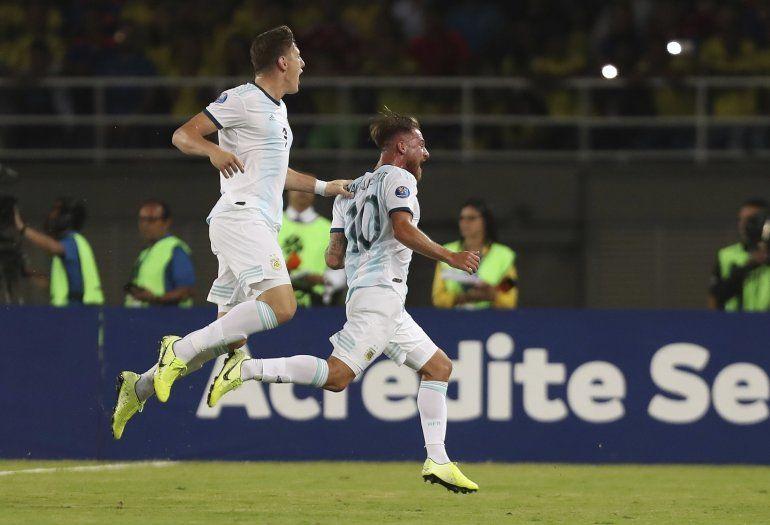 Gran debut: Argentina superó a Colombia en el primer partido