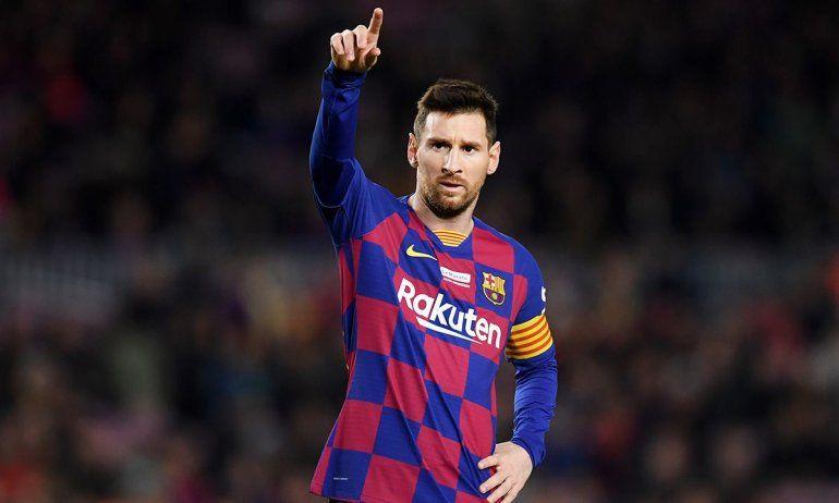 Messi se rebajará el sueldo junto a sus compañeros
