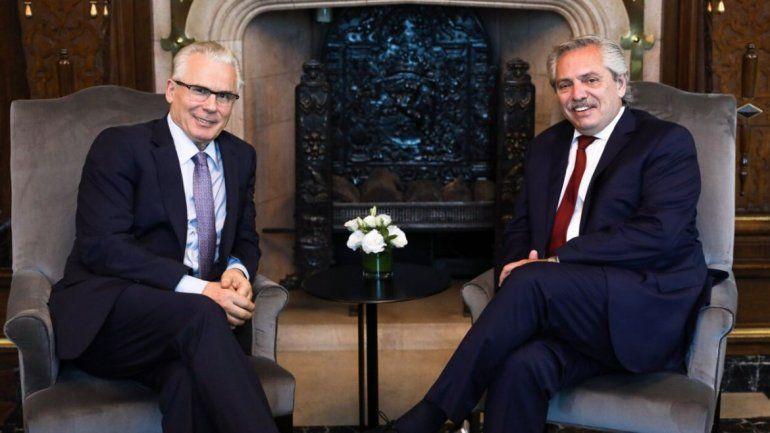 Alberto Fernández se reunió con el jurista español Baltasar Garzón Real