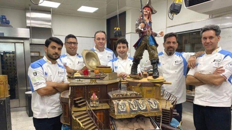 Argentina en el podio de la Copa Mundial del Helado Artesanal