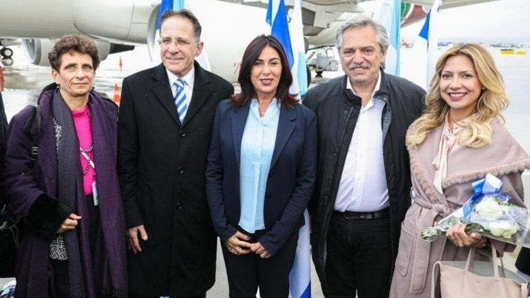 Alberto Fernández llegó a Israel para participar de los actos por las Víctimas del Holocausto