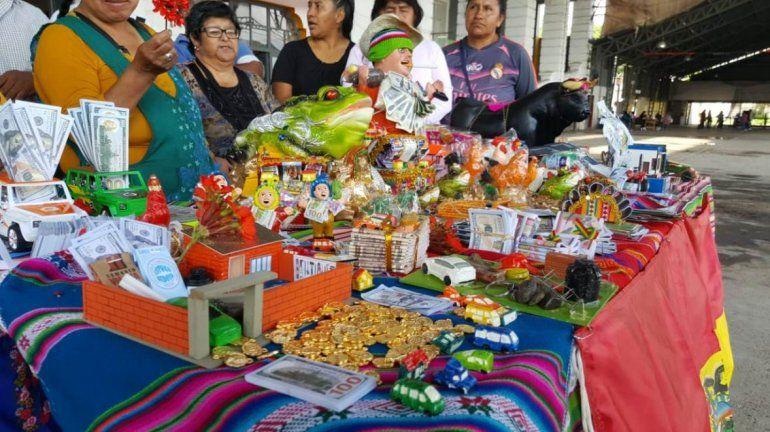 Mañana se hace la feria de la Alasita en Jujuy