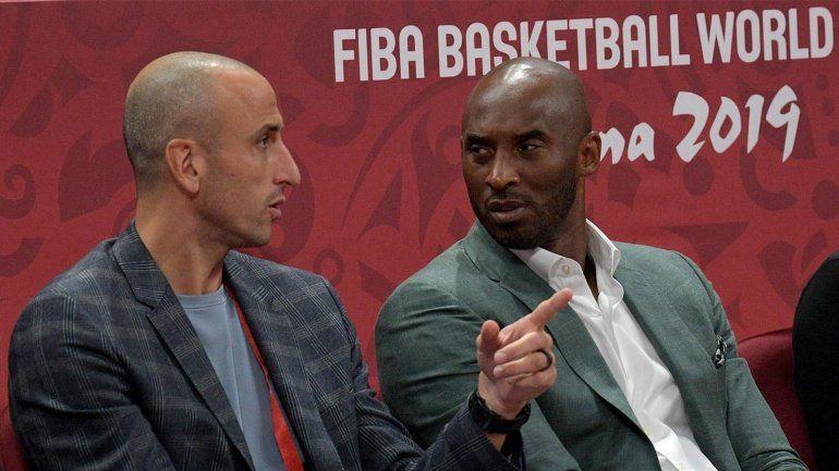 Manu Ginóbili manifestó su dolor por la muerte de Kobe Bryant