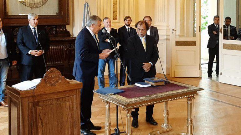Álvarez García asumió como ministro de Trabajo: Odio la corrupción