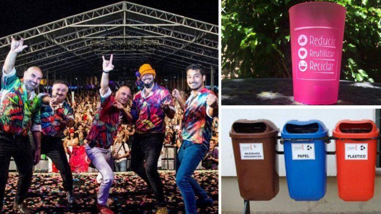 En El Carnaval de Los Tekis habrá eco-vasos y puntos limpios para cuidar el ambiente