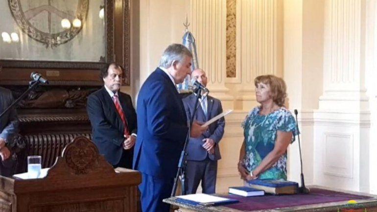 Morales tomó juramento a la nueva titular de la Oficina Anticorrupción y al Procurador de la provincia