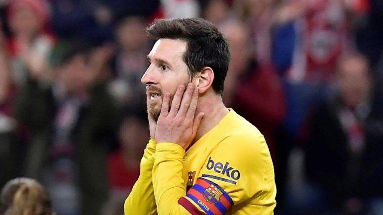 Lapidario con Messi: No es Cristiano Ronaldo, está protegido