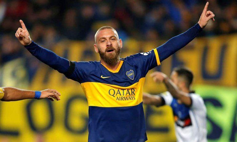 Daniele De Rossi: Boca fue un sueño, pero mi retiro real fue en Roma