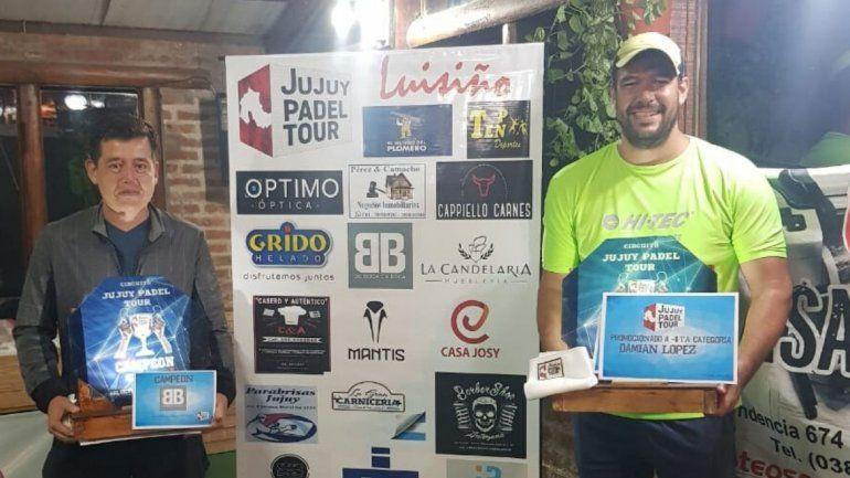 Terminó la primera fecha del Jujuy Padel Tour: estos son los resultados de las categorías impares
