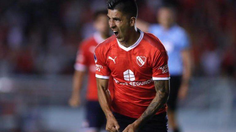 Independiente se recuperó y le ganó a Fortaleza de Brasil por la Sudamericana