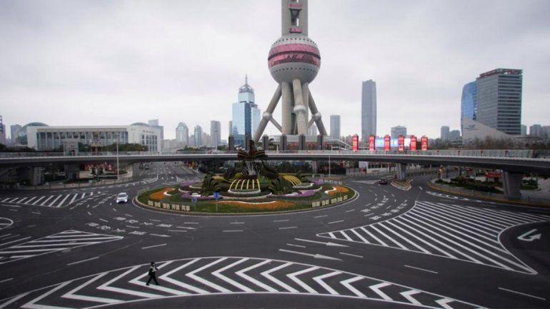Shangai desierta.