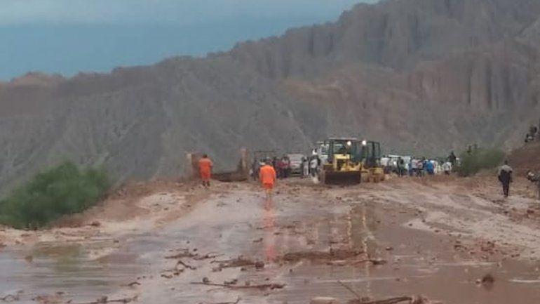 Habilitaron la ruta entre Tilcara y Humahuaca pero hay cortes en otros puntos de la provincia