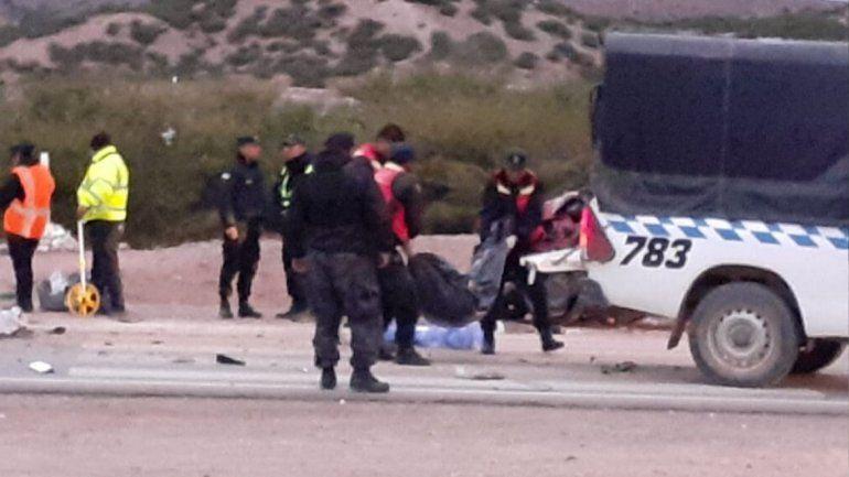 Efectivos policiales mueren en un accidente de tránsito en Humahuaca