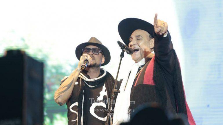 Mauro Coletti y el Chaqueño Palavecino hicieron estallar al público cantando El Humahuaqueño