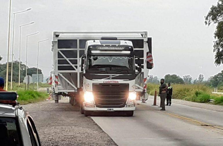 Camiones de gran porte en las rutas jujeñas ¡Circular con precaución!