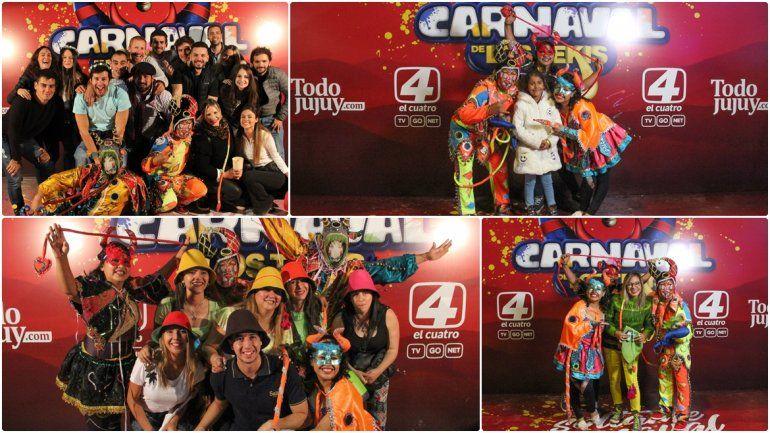 Buscate en las fotos con los diablitos de El Carnaval de Los Tekis