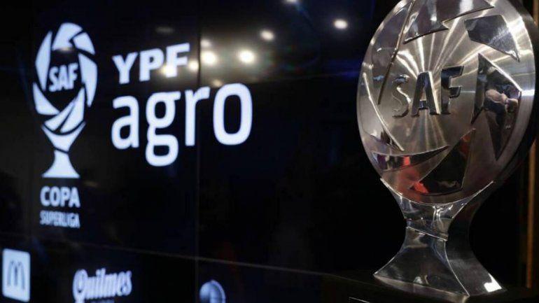 Días y horarios de las dos primeras fechas de la Copa Superliga