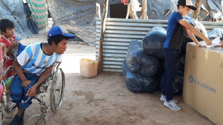 El Changuito Yuteño entrega su silla a Justino Arias en Salta.