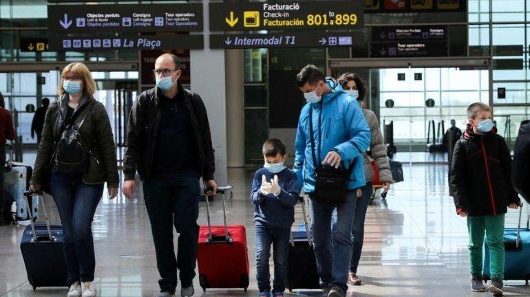 Transporte: Coronavirus en el aeropuesto de España