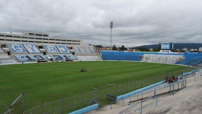 Gimnasia de Jujuy pone a disposición el estadio 23 de Agosto