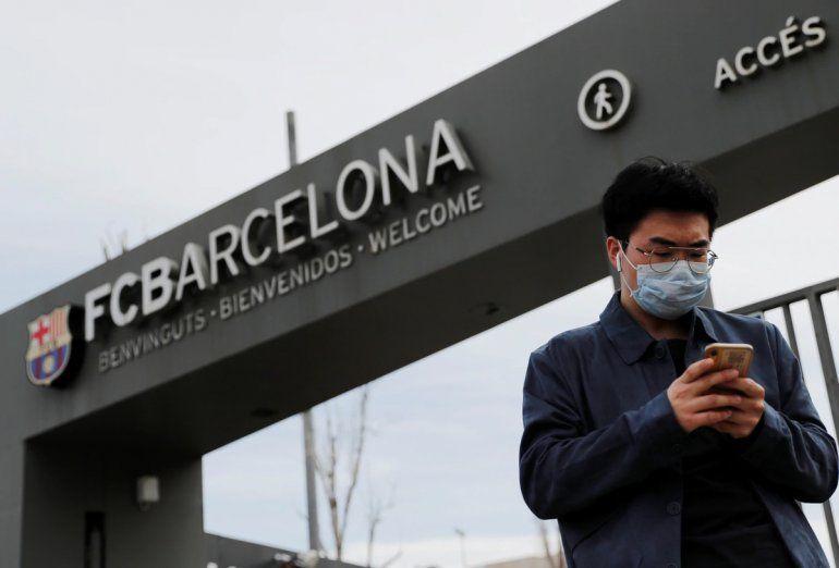 El Barcelona confirma dos casos de coronavirus en el club