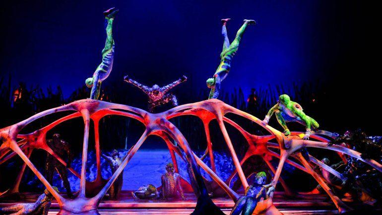 Coronavirus: Cirque du Soleil da un show gratuito en vivo