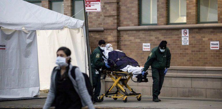 Coronavirus: las muertes en Nueva York ascienden a 1.218
